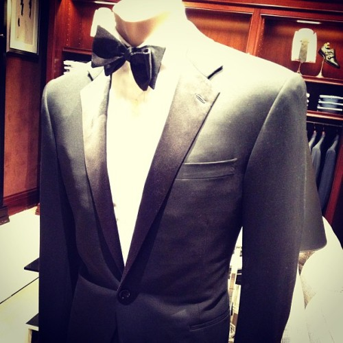 Meanwhile, in Lenox Mall. #blacklabel #purplelabel #ralphlauren #tuxedo