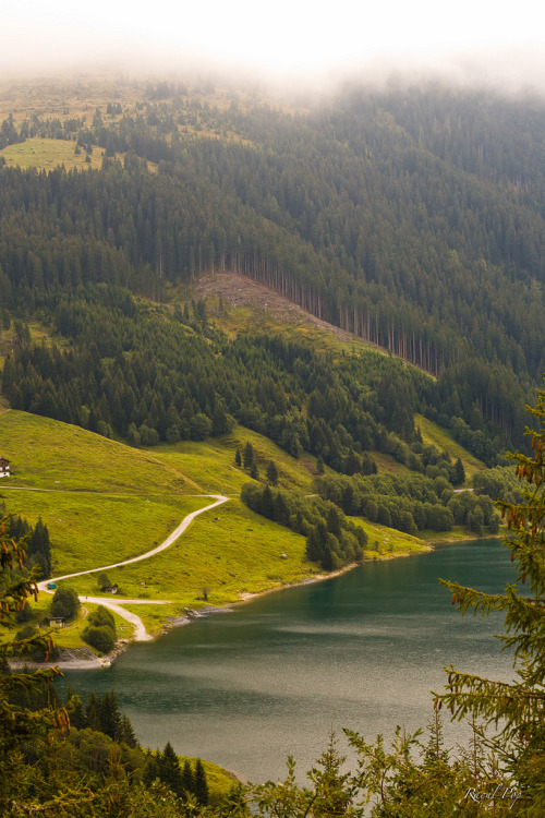 elbesoie:  Road to the lake (by Raoul Pop)
