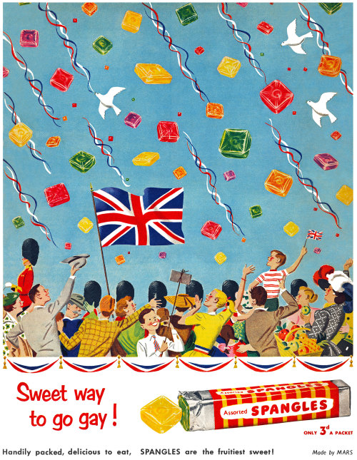 Spangles - published in Everybody's Magazine (United Kingdom) - June 13, 1952 Copyright © totallymystified on Flickr.  All rights reserved.