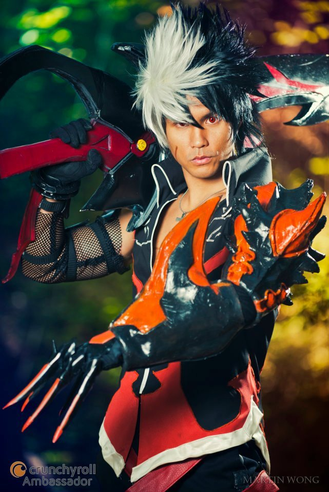 Character: Raven (Reckless Fist) Series: Elsword Online Cosplayer: Junkers Cosplay Links: Facebook - DeviantArt - Blog