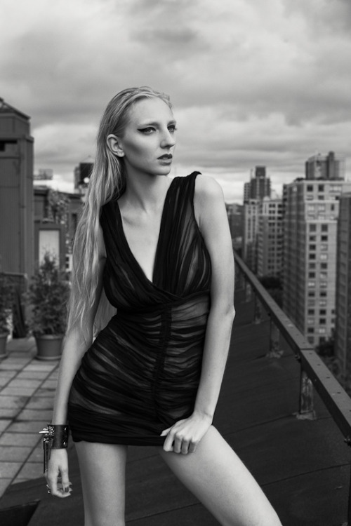 Random Beautiful Things on NYC rooftops with Iggy by Alex Covo