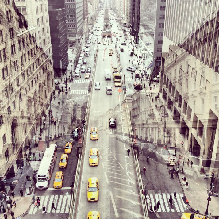 ryanpanos:  New York + London: A Collection Of Double Exposures By Daniella Zalcman via Yatzer London and New York City; two cities so fundamentally different and yet so amazingly similar. So what happens when two of the most photographed cities in the world come together as one? Daniella Zalcman's new photographic project New York + London shows us the exact result. Daniella Zalcman is an award-winning photojournalist with a background in architecture. After establishing a name for herself in New York City, where her work appeared in The Wall Street Journal, The New York Times, the New York Daily News, Sports Illustrated and Vanity Fair, she felt that it was time for her to relocate to London. And her desire to bring a piece of her beloved New York into her new London life, was the driving force that sparked the idea for her next project.