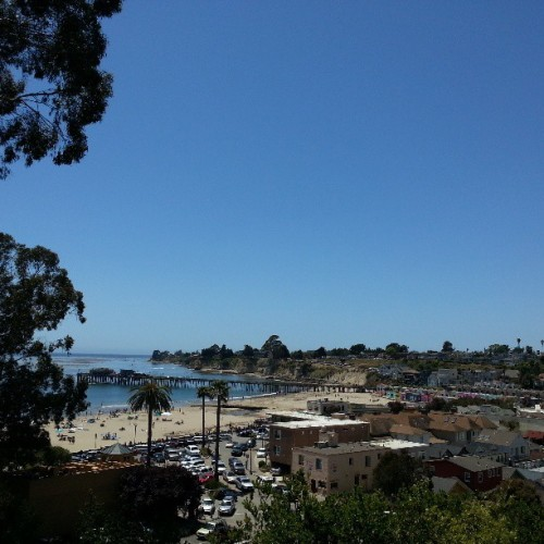 at Cliff Ave., Capitola, California