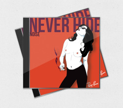 Illustration Using the iconic Nagel style I illustrated this CD cover for Ray Ban's Facebook competition.