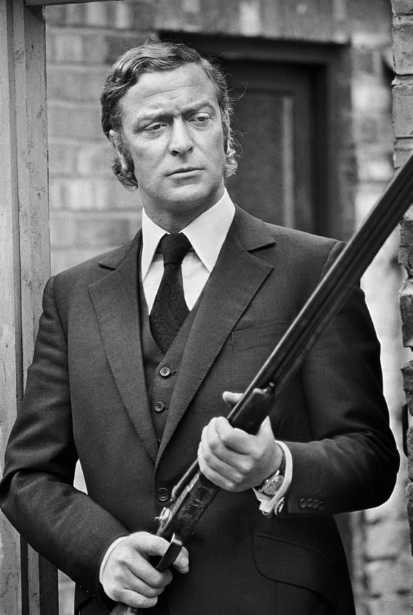 SeventiesCaine  ( in 'Get Carter' wearing the perfect tailoring of Dougie Hayward )