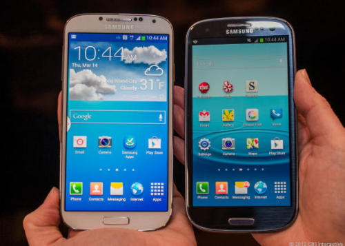Let's compare the Samsung Galaxy S4 to the Samsung Galaxy S3!  What's new about the new hotness