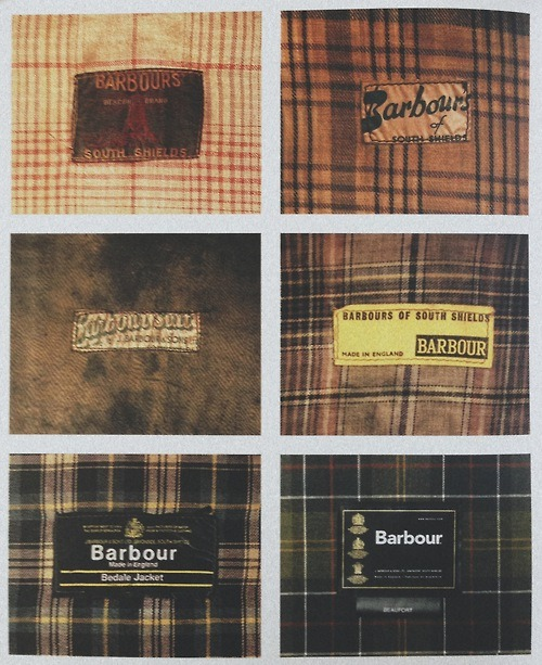fecastleberry:  The evolution of Barbour's graphic identity and tartans.
