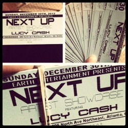 #itsofficial #LucyCa$h with @T_Da_Vinci #Live at #TheMasquerade #NextUp Support the movement #$10 #hml for a ticket #Luce