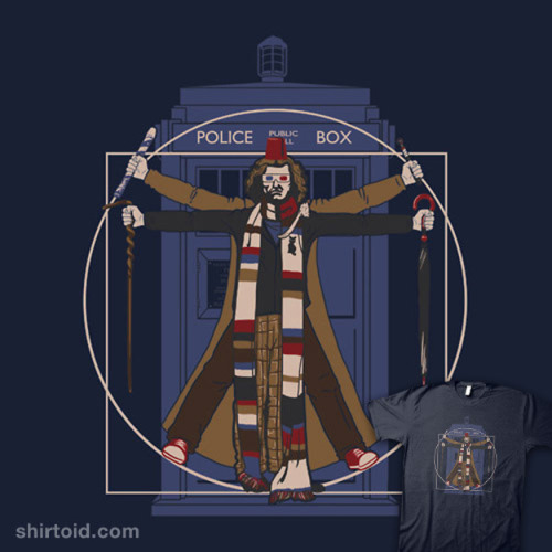 Vitr-Who-vian Man. by spacemonkeydr on Shirtoid.