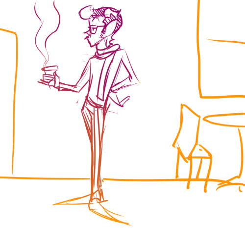 adorablesarah:  homestuckanime:  Someone requested Eridan with coffee. I couldn't not. -thatonegirludontknow  Squeeeeee~~~