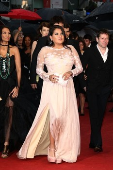 moderndayndnprincess:  Misty Upham red carpet at Cannes