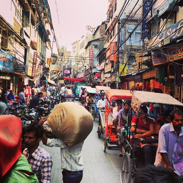 This is India. (at Chandni Chowk)