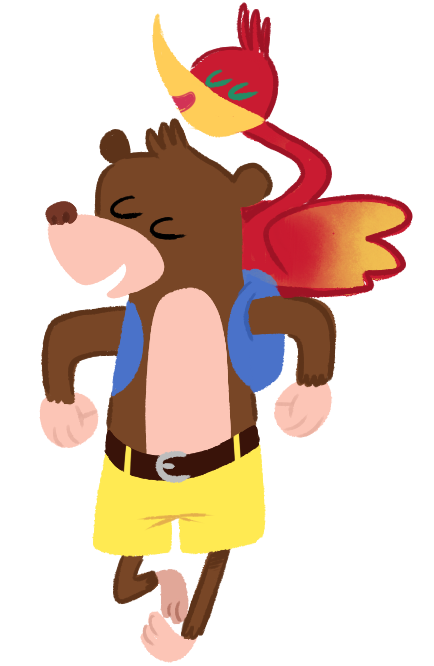 sailorswayze:  MORE BANJO AND KAZOOIE BC I LOVE DRAWIN EM