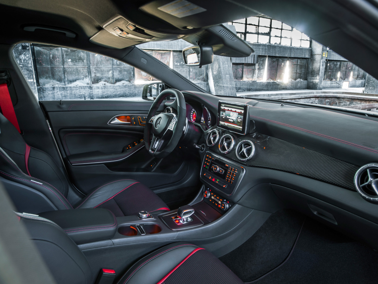 carinteriors:  2013 Mercedes-Benz CLA 45 AMG  Really hoping this will be my next car.