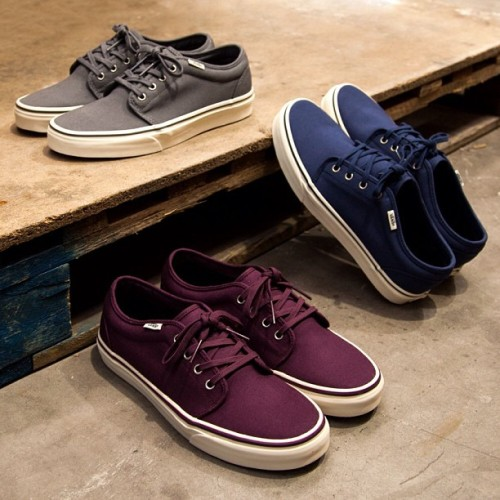 Three new colour ways of the Vans 106 have landed! Check them out after 6pm @ www.footasylum.com! #footasylum #showusyoursneaks #vans #106vulc #106 #vans106 #vans106vulc #sneakers #sneaks #trainers #kicks #kicksoftheday #kotd #igsneakercommunity #freshkicks #shoegame #newin #newarrival #mens #newrelease #offthewall #wearyourkicks  (at Product codes: 047078, 047079, 047080)