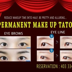 SEMI PERMANENT MAKEUP AVAILABLE