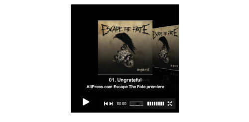 Streaming now on AltPress: Escape The Fate's new album, Ungrateful[LISTEN]