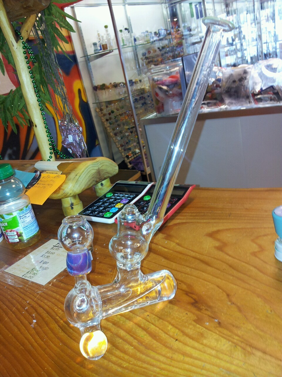 Inline vapor rig 14mm male joint.made in Portland OR. $200 if interested. :) Ask box me for info.