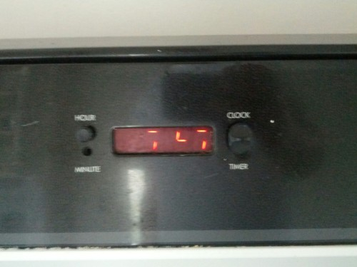 Helping Ater move, his oven speaks Predator. Predator