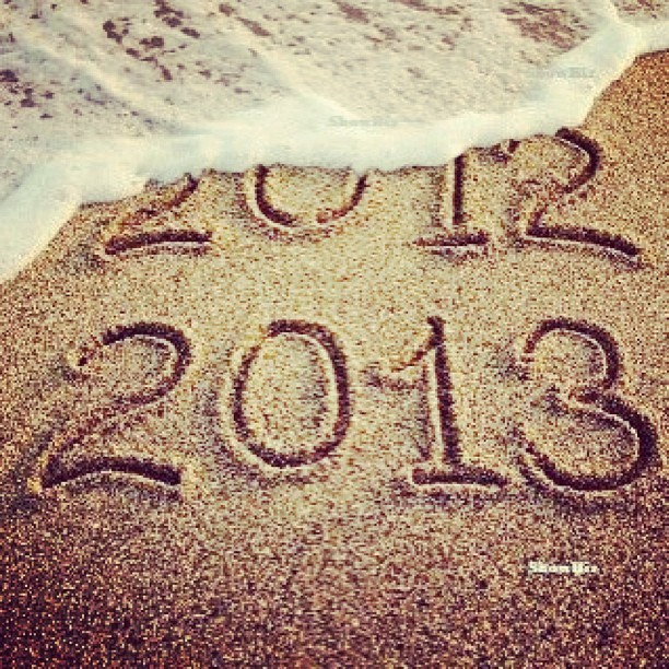 Goodbye 2012, Hello 2013 This is a new year. A new beginning. And things will change. #goodbye2012 #nye #newyear #quotes #taylorswift #igers #happynewyear #instagood #tumblr