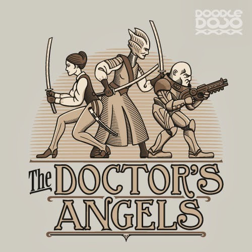 trappedratmusings:  Totally found this on a Doctor Who Google+ community. Love it. Spin off needed.