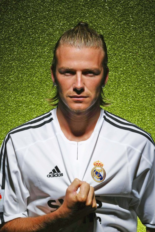 02/07/2003 Real Madrid Portrait BECKHAM