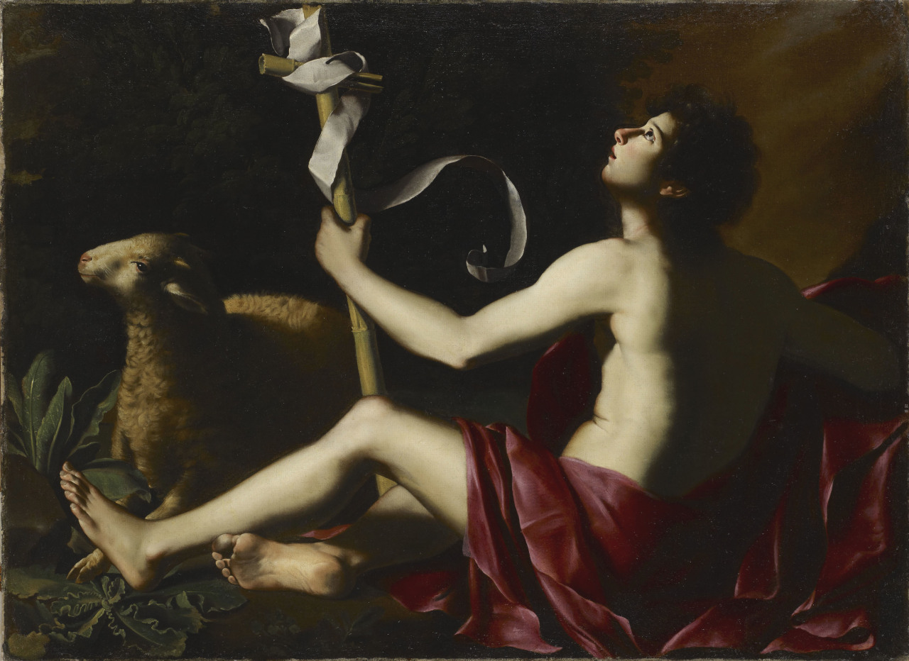 Maitre de Baranello, Young San John the Baptist, 1620-30