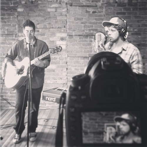 Recorded a new cover in Omaha, Nebraska yesterday of 'Radioactive' by Imagine Dragons! Here's a pic of the shoot…expect this baby on YouTube sooooooooooon!