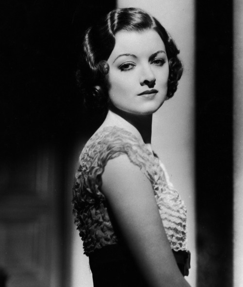 historiful:  Actress Myrna Loy (1905-1993), date unknown.