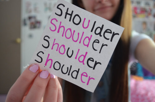 meatbicyclevevo:  captoring:  4w-k:  all time favorite quote c:  shoulder shoulder shoulder shoulder  your favorite quote. is. shoulder. shoulder. shoulder. shoulder.   actually it's sholderersuersould