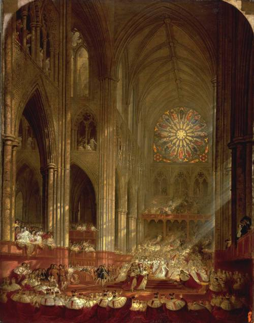 John Martin, 1839, The Coronation of Queen Victoria