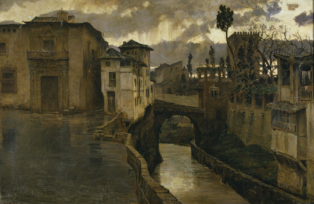 thorsteinulf:  Antonio Muñoz Degrain - Memories of Granada (1881)