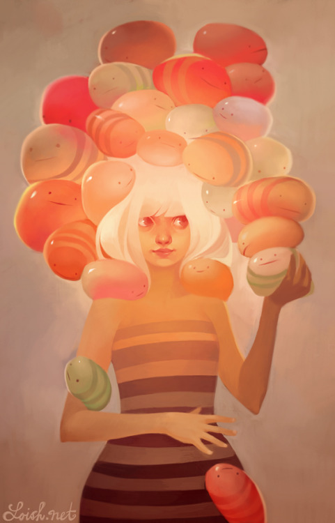 Inspirational Artists ◘ Lois van Barlee