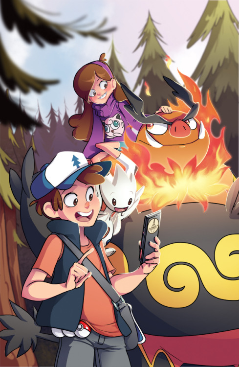 shavostars:  I really, really love Gravity Falls, the characters are super loveable, the dialogue is fun, the animation is great and just everything is amazing ahhh! I'm horrible(predictable) and involved pokemon as well! I imagine Mabel would totally get a tepig which would evolve into an awesome emboar and she'd dress it up in contests, and it'd totally dig it. Dipper would get a togepi, and it'd be cute but would get fussy and maybe hit you if you called it cute.