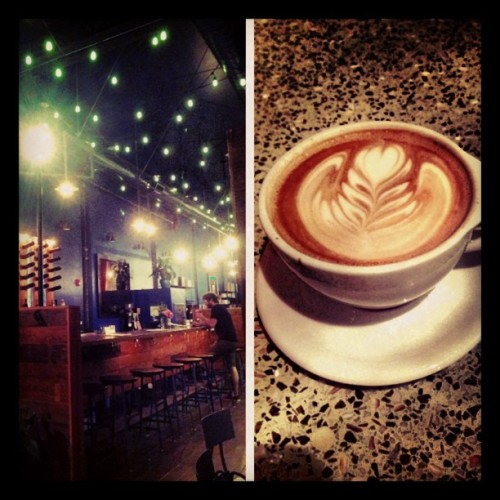 #picstitch #coffee #shop #late #night #weekend #friday #cafe #laeats #foodporn #lifestyle #tea #bar (at Intelligentsia Coffee & Tea)
