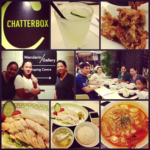 Chatterbox! 🍴👍👏 (at Mandarin Orchard)