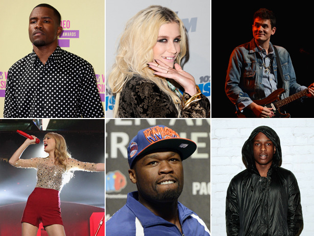 Lana Del Rey and A$AP Rocky? Carly Rae and Owl City?  We've got the 9 most unexpectedly delightful music collabs of 2012.