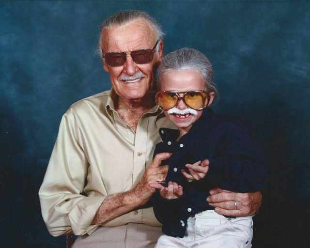 laughingsquid:  Little Girl Dressed as Marvel Comics Legend Stan Lee