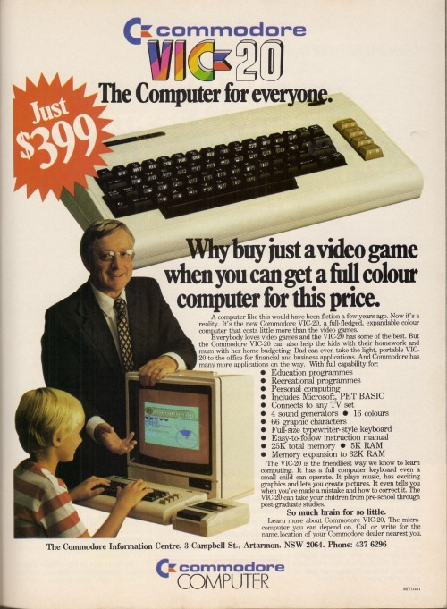 Commodore VIC-20 Computers - 1983 (par glen.h)
