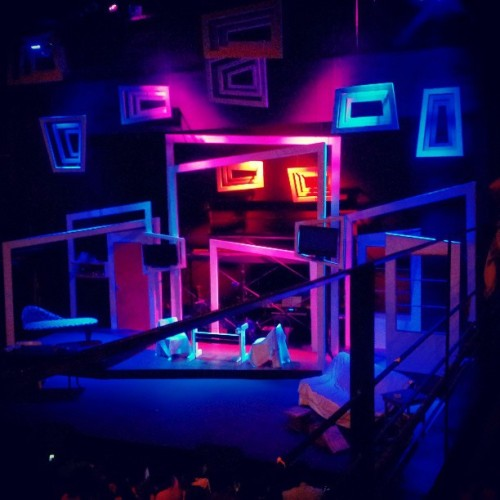 The show's about to start! #SaWakas (at PETA Theater Center)