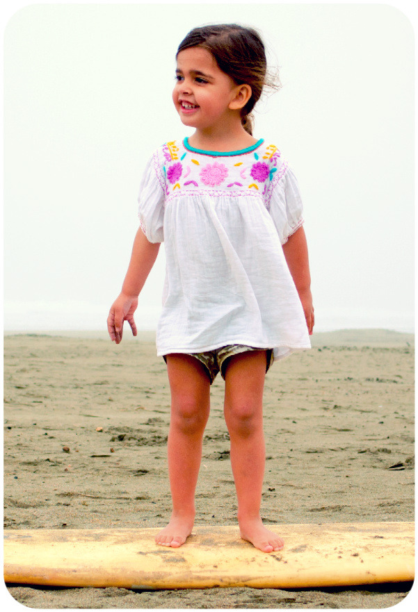 Hit the beach this summer in our Ashley top and Abby Shorts.