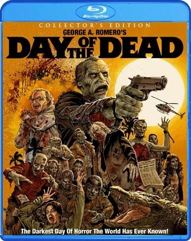 Box art for the upcoming Day of the Dead Blu-Ray from Scream Factory.