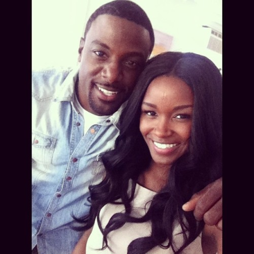 barbarahj:  had such a great shoot with Lance Gross, still cant believe this happened