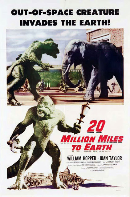One-sheet for 20 Million Miles to Earth (1957).
