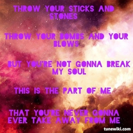 so very true :3 Part Of Me Lyrics by Katy Perry