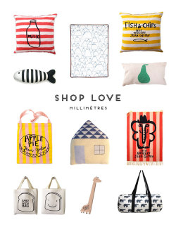 (via Shop Love – MILLIMÈTRES | Production Road)