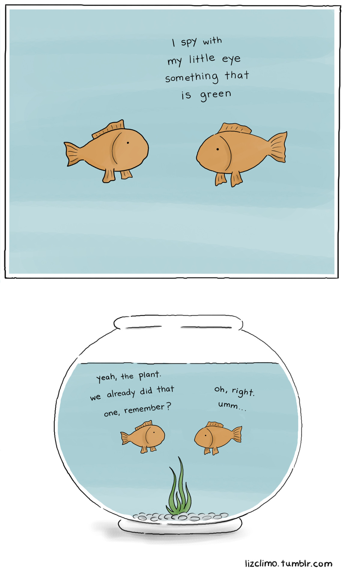 lizclimo:  fishbowl part two (part one)