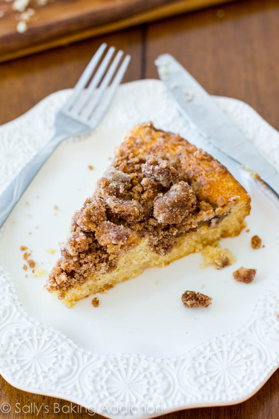 fullcravings:  Super Crumb Coffee Cake