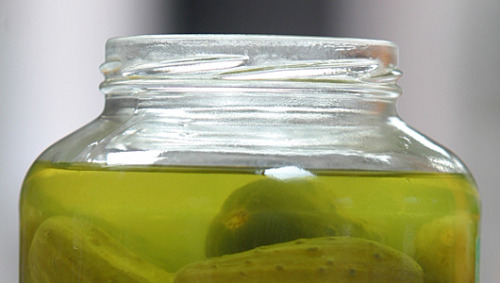 mothernaturenetwork:  Don't throw out that pickle juice Turns out that brine can punch up your potato salad, take the edge off onions and even make a good sports drink. Want more? How about as a whiskey chaser?