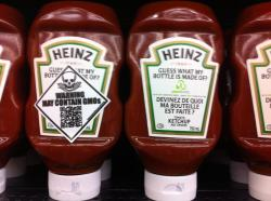 Great move Heinz. Bottle made out of 30% plant material. Can you say the same about what's inside the bottle? I think I would rather eat the bottle thanks.  Via Creating A World I Would Be Proud To Live In